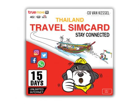 Travel SIM Thailand 15 days