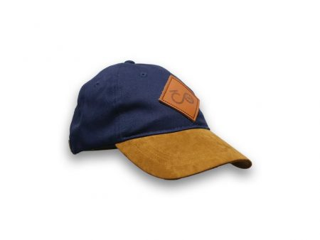 Blue Brown cap