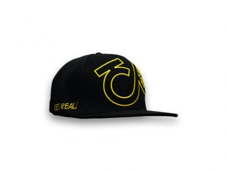 Get Real black yellow cap